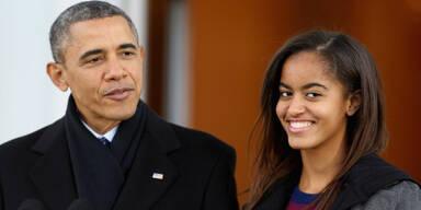 Barack Obama Malia Obama