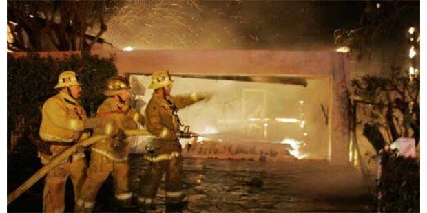 Feuersbrunst zerstört Promi-Villen