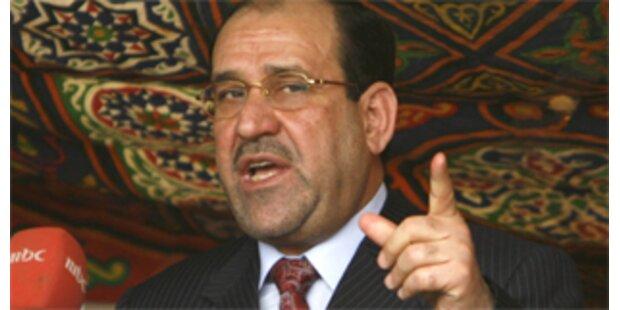 Iraks Premier stoppt Offensive gegen Schiiten