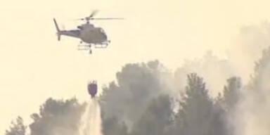 Schwere Waldbrände auf Mallorca