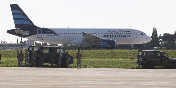 Entführte Passagiere kehrten nach Libyen zurück