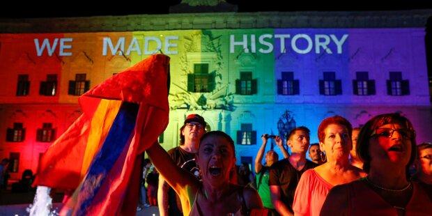 Malta führt Homo-Ehe ein