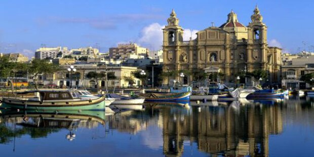 Malta lädt zum Strandspaziergang