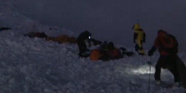 Gipfel-Sturm trotz Todes-Drama