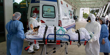 Hier warten 480 Corona-Patienten auf ein Krankenhausbett