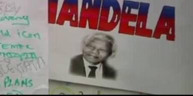 Die Menschen bangen um Nelson Mandela