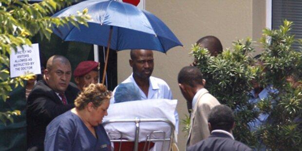 Mandela wird aus Krankenhaus entlassen