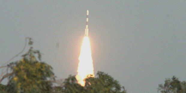 Indien startete eigene Mars-Mission