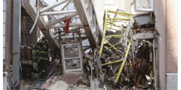 Inzwischen sieben Tote durch Kran-Unglück in New York