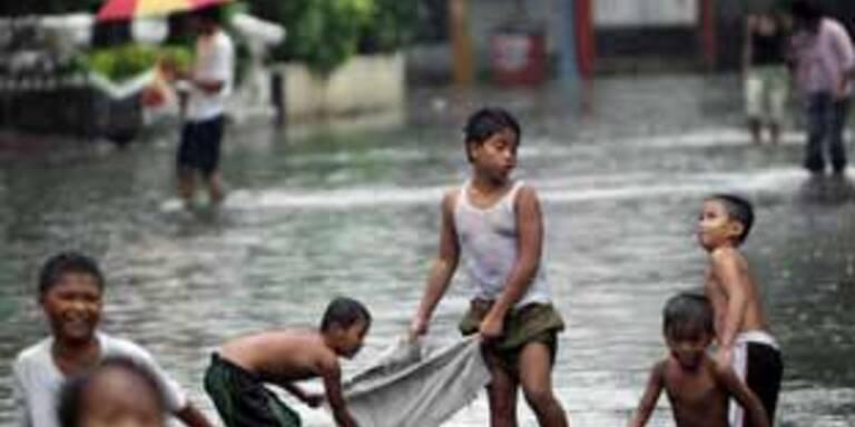 Fluten in Manila führen zu elf Toten
