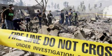 Fabrik für Feuerwerkskörper explodierte in Manila