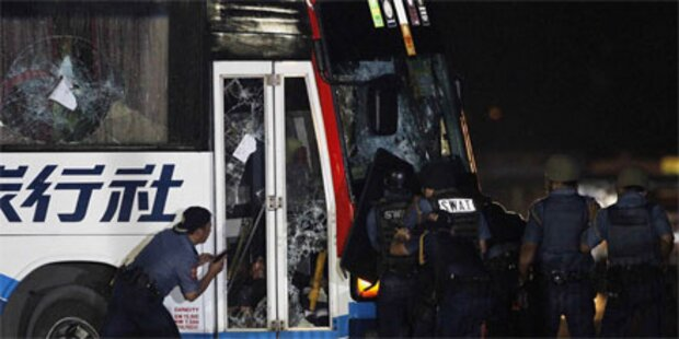 Geisel-Drama in Manila gewaltsam beendet