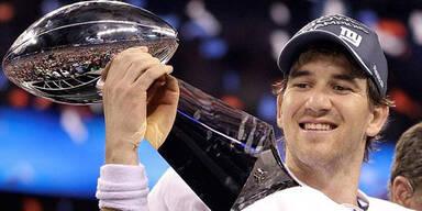 New York Giants gewinnen Super Bowl XLVI