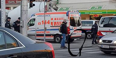 Frau in Wien von Lkw überrollt – tot