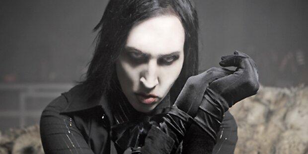 Marilyn Manson stellt Ausstellung vor