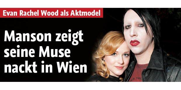 Manson zeigt seine Muse nackt in Wien!