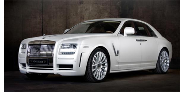 Rolls Royce Ghost von Mansory