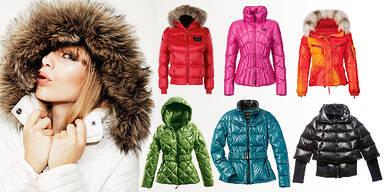 Daunenjacke Mantel für den Winter