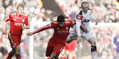 United stolpert im Rekordmeister-Duell