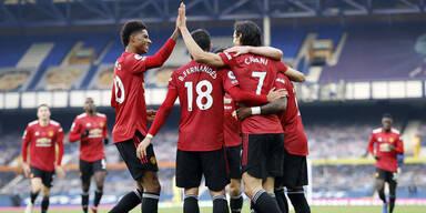ManUnited gelingt bei Everton Befreiungsschlag