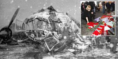 Vor 50 Jahren stürzte ManU-Flieger ab
