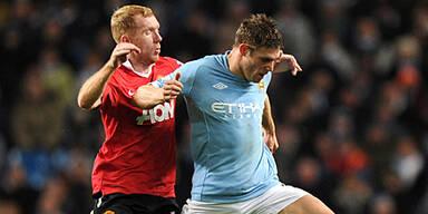 Torloses Remis bei Manchester-Derby
