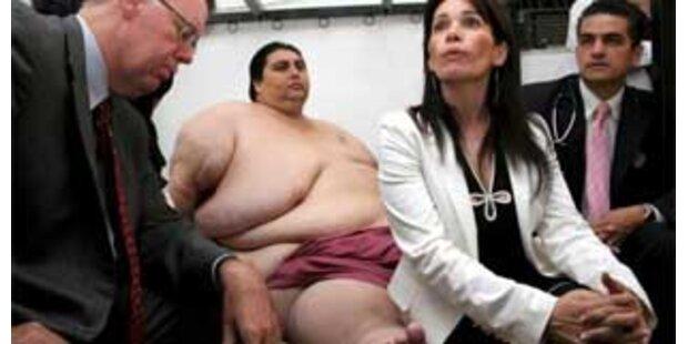 Dickster Mann der Welt speckte 230 Kilo ab