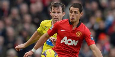 Manchester United weiter in der Krise