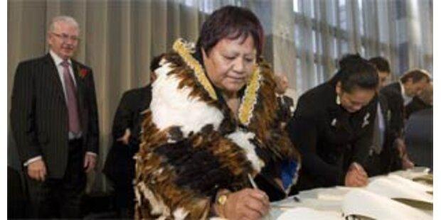 Maori feiern historische Entschädigung