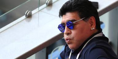 Maradona sorgt für neuen Mega-Eklat