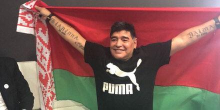 Maradona wird Boss bei Weißrussland-Klub