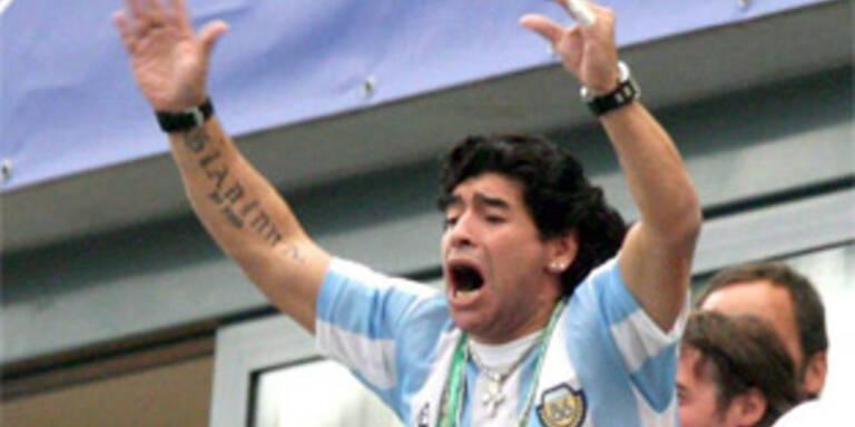 Maradona neuer Argentinien-Coach