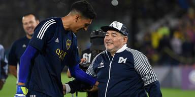 Die 'Hand Gottes' hilft Maradona ein zweites Mal