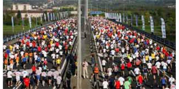 Linz-Marathon sorgt für Staus und Sperren