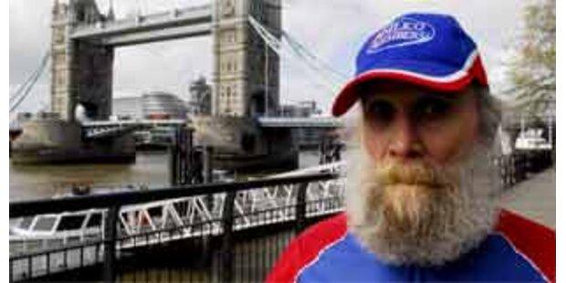 101-Jähriger bewältigt London-Marathon mit Bier