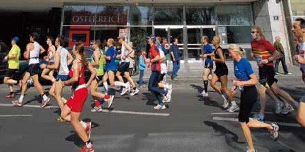 7.500 Läufer sind beim Marathon am Start