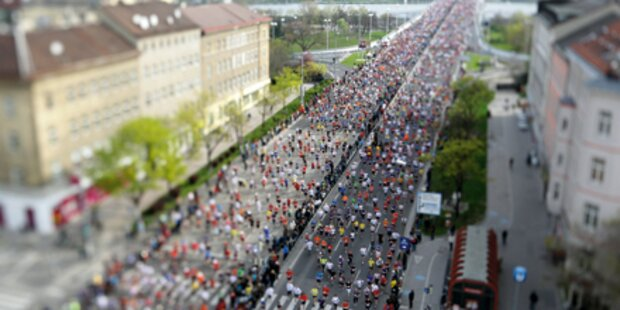 Vienna City Marathon ist fast ausgebucht