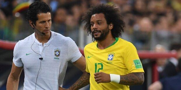 Kurioser Grund für Marcelo-Verletzung