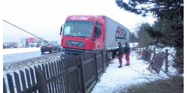 200 Liter Diesel nach Unfall ausgetreten