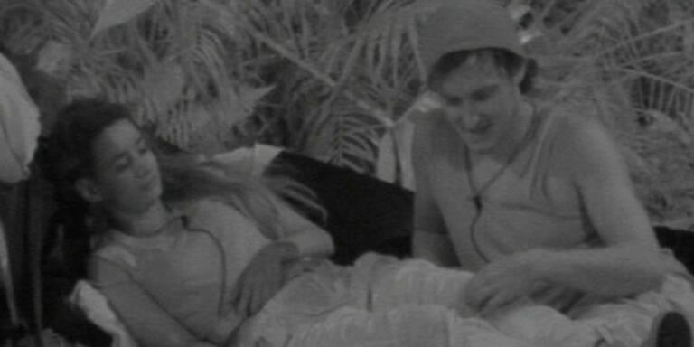 Marco & Gabby turteln im Dschungelcamp