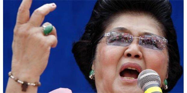 Imelda Marcos vor Polit-Comeback