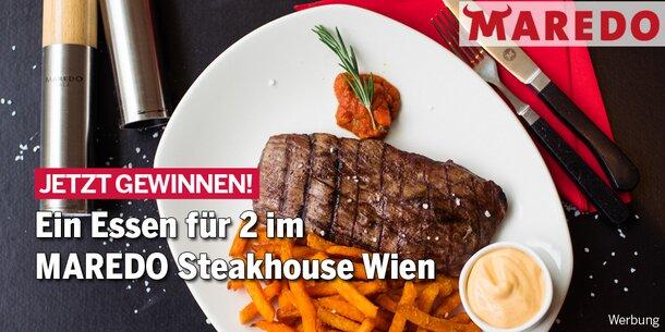 Essen für 2 im MAREDO Steakhouse Wien