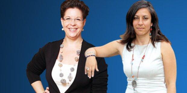 Zwei Damen rittern um Koalition mit SPÖ
