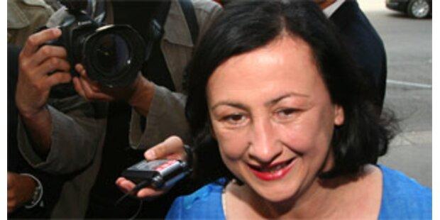 Maria Berger sagt nichts zu Wechsel zu EuGH