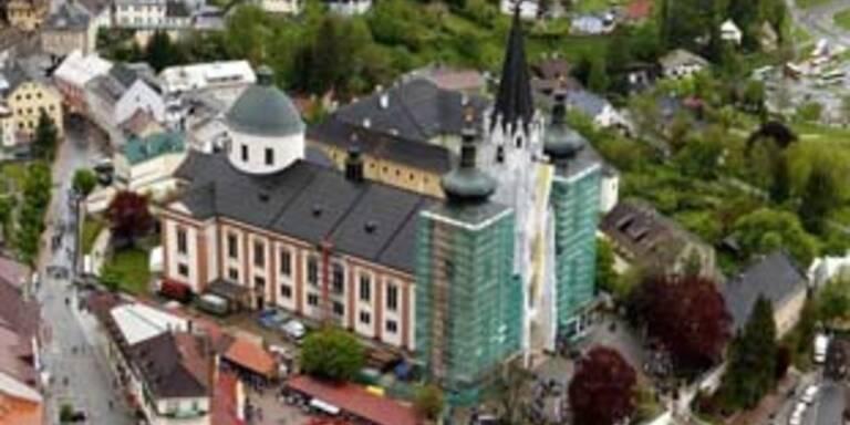 100.000 Euro-Weihnachtsspende für Mariazell