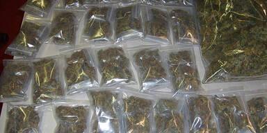 Marihuana, Hasch und Koks um 500.000 Euro