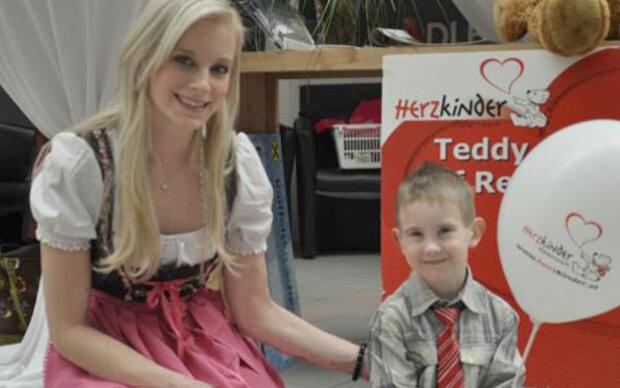 Vize-Miss Vienna für herzkranke Kinder