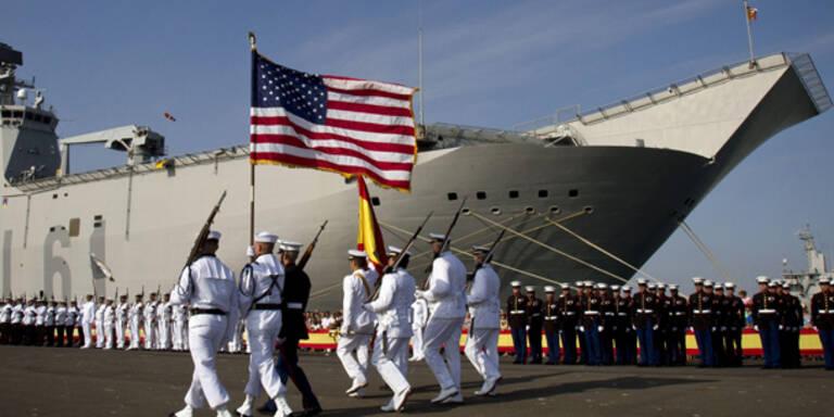 Schüsse nahe US-Marinestützpunkt