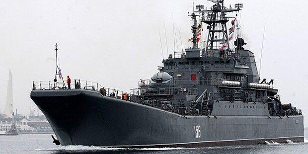 Russische Marine-Manöver in der Ostsee