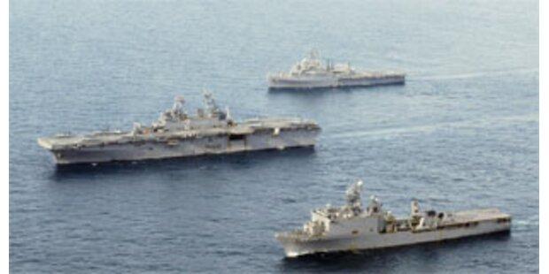 USA ziehen Schiffe vor Burma ab